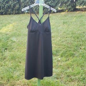 Athleta Black Swim Dress Sz M